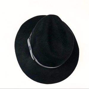 Accessories - Wool hat bow black